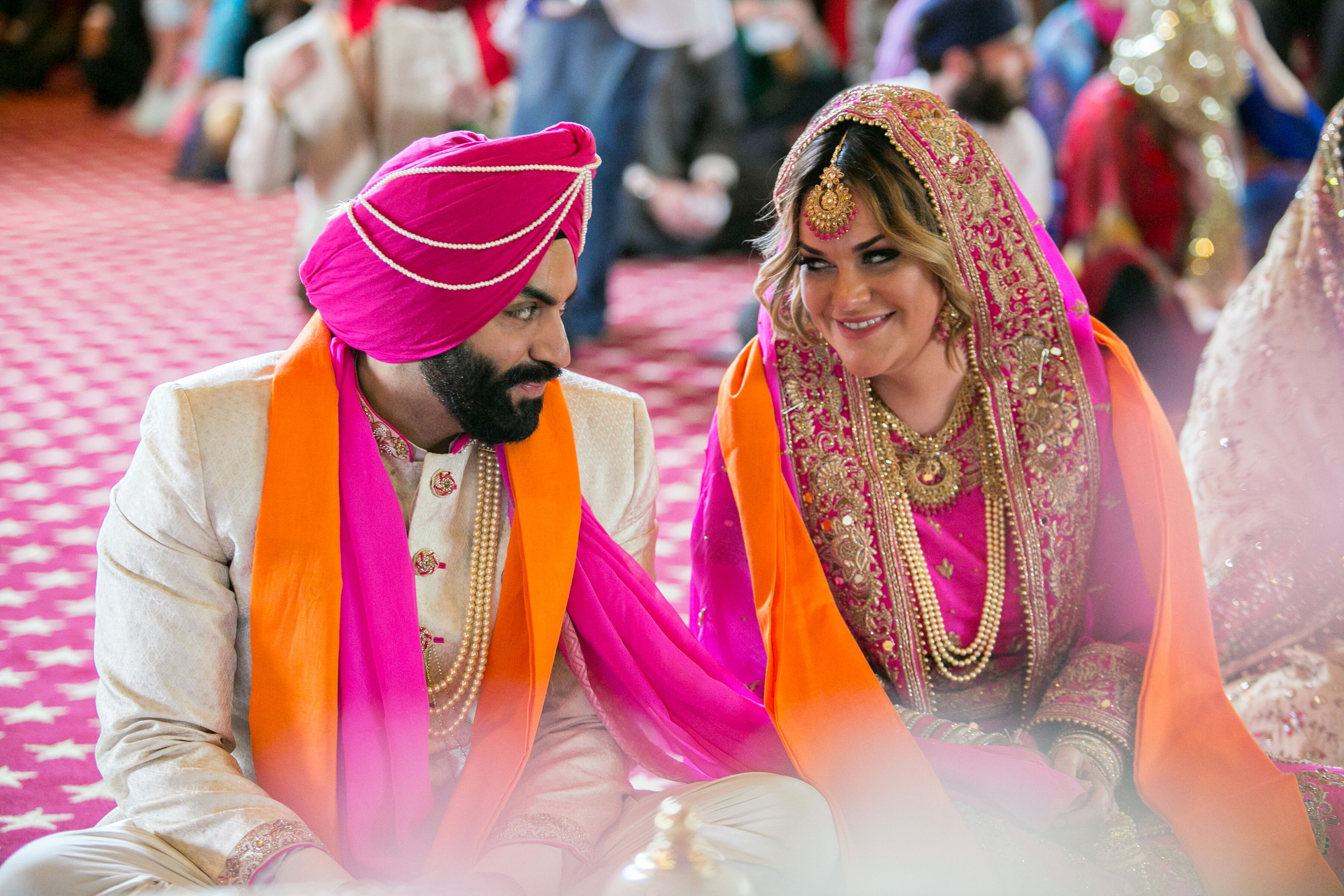 Traditional Sikh Wedding Ceremony