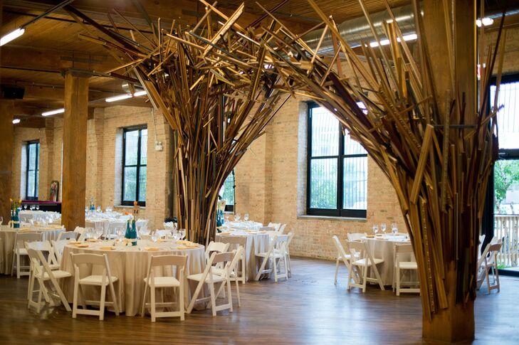 Lacuna Artist Lofts Wedding Reception