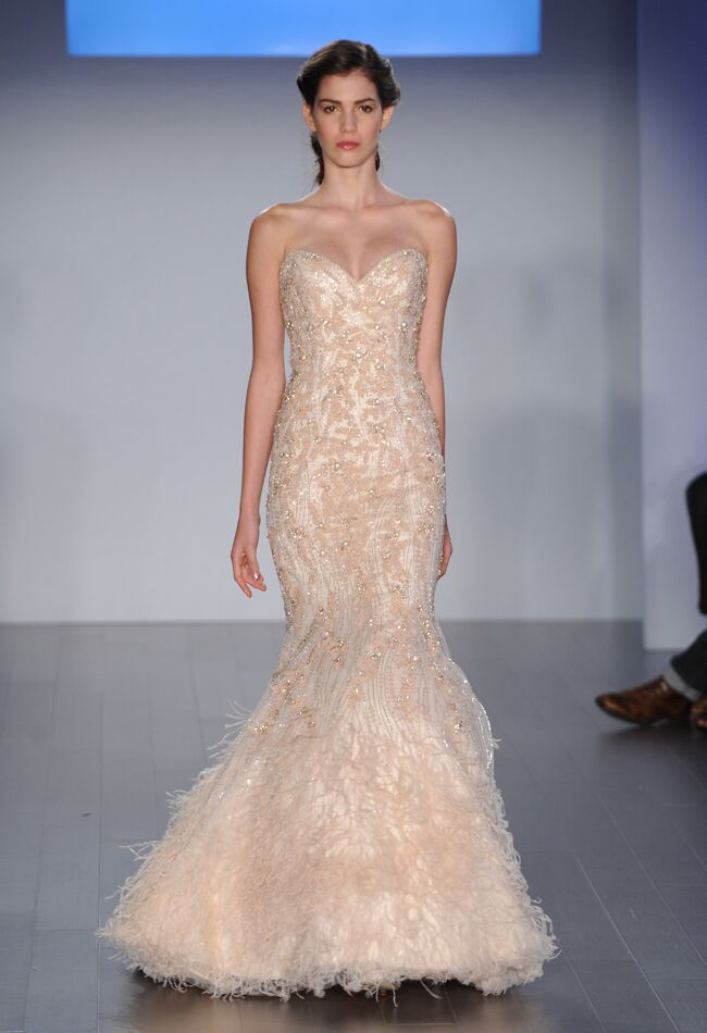 Lazaro Spring 2015 Wedding Dresses Feature Unique Colors and ...