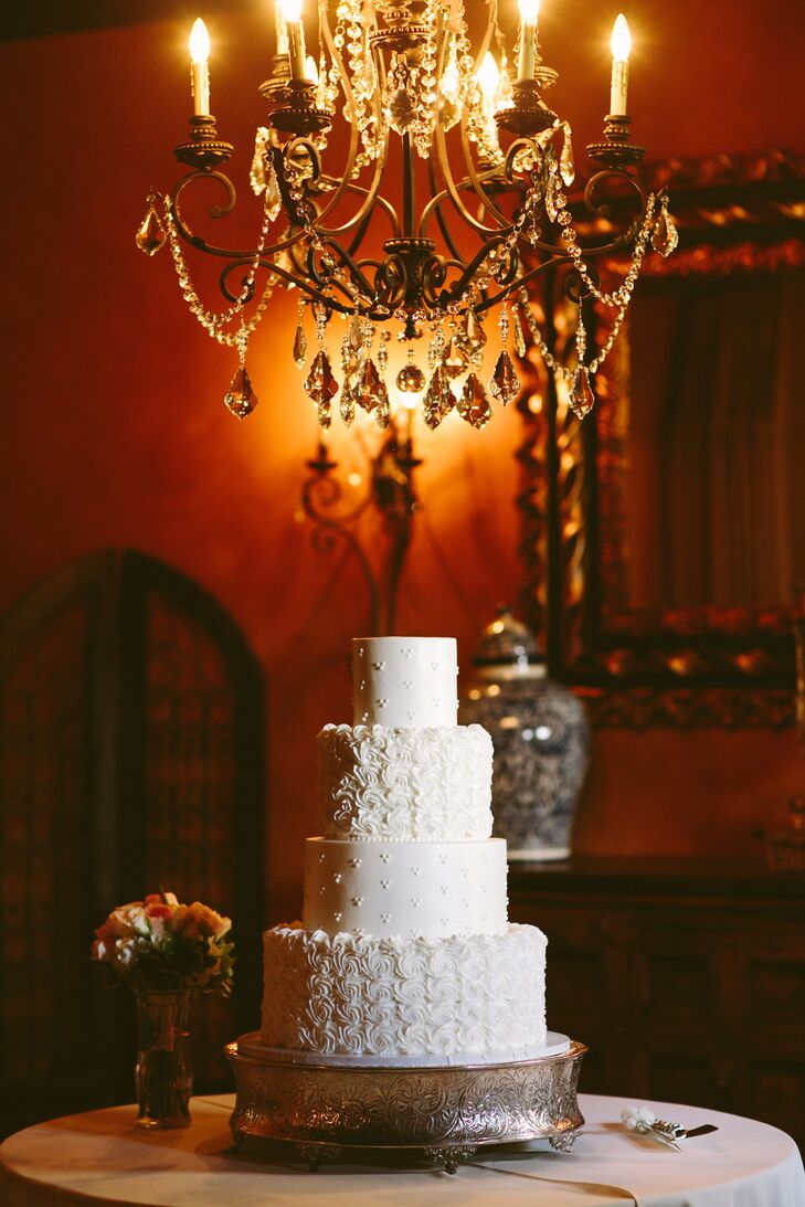 wedding cakes conroe tx white textured wedding cake 24104