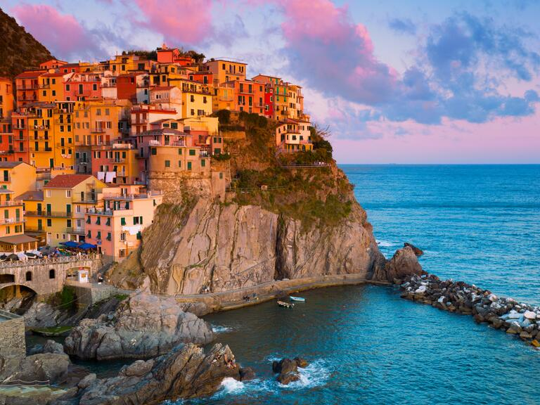 Honeymoon in Manarola, Liguria, Italy