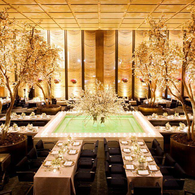 Reception at the four seasons restaurant - Ideas para bodas espectaculares ...