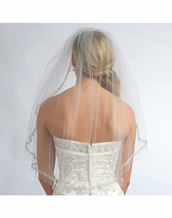 USABride 1 Layer, Stephanie Beaded Edge Veil VB-5009 Wedding Veils photo