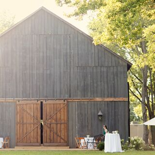A Simple Barnyard Wedding in Keene