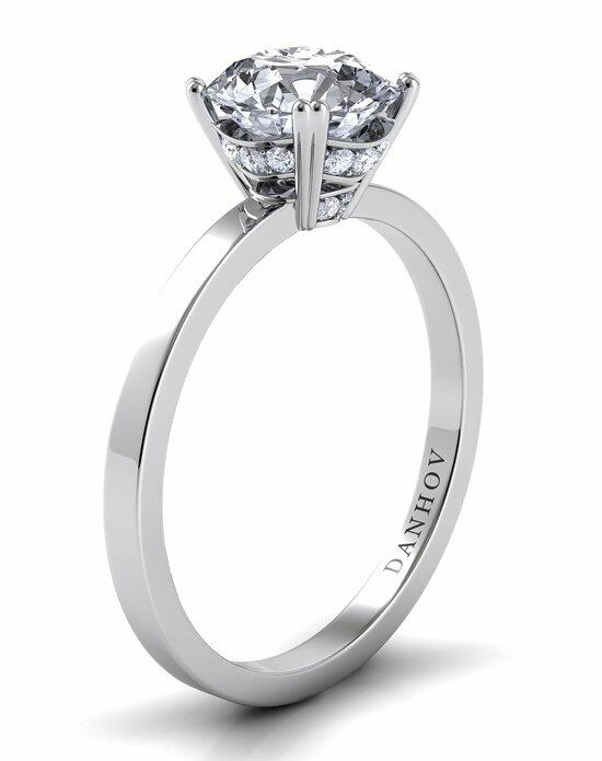 Danhov Classico Diamond Crown Engagement Ring photo