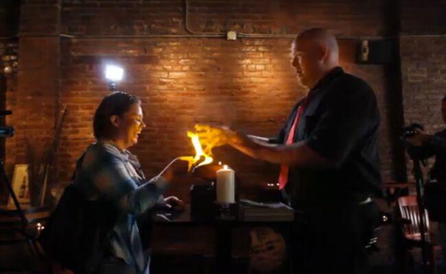 A Harry Potter Wedding Proposal (Video)