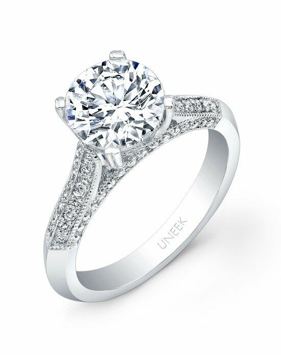 Uneek Fine Jewelry USM024-7.5RD Engagement Ring photo
