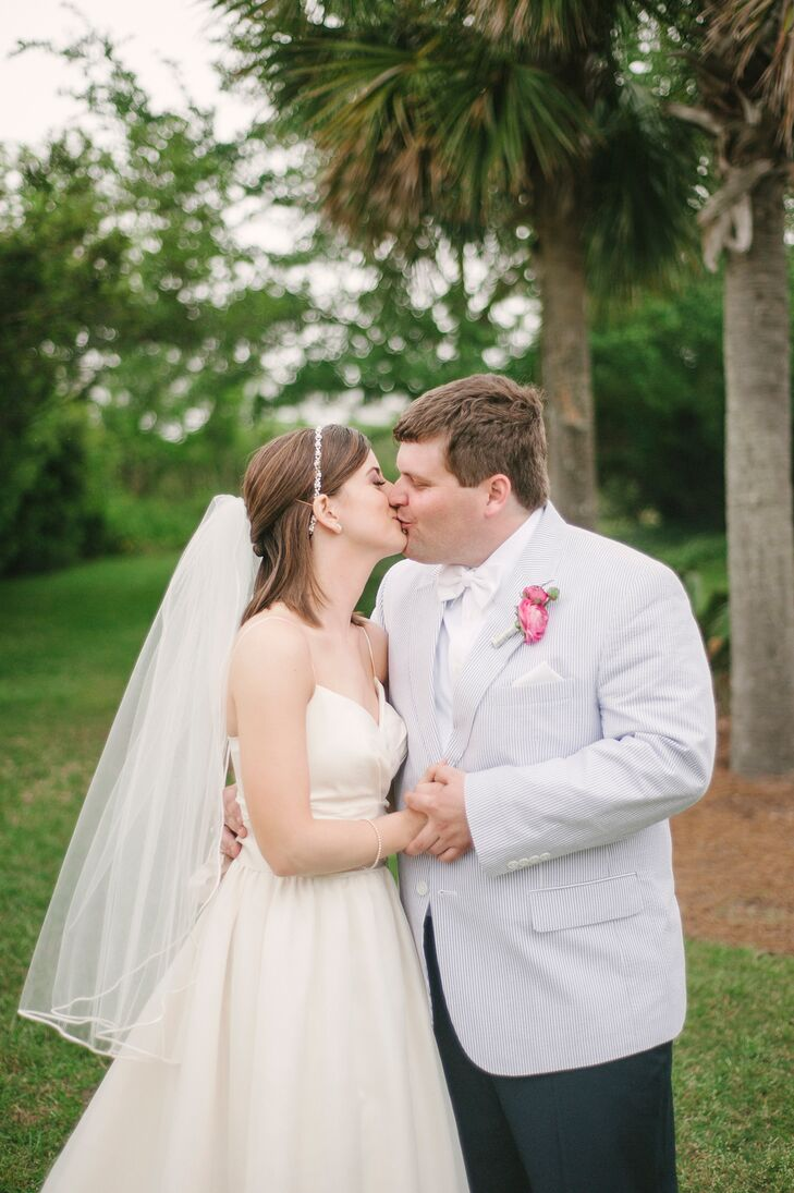 A Pink Southern Inspired Wedding At Harborside East In Mount Pleasant,  South Carolina