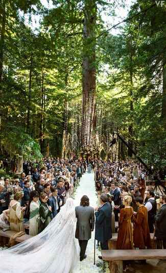 Sean Parker's Wedding Photos by Christian Oth