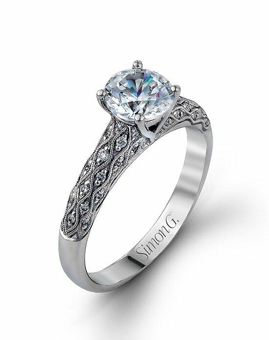 Simon G. Jewelry MR1697-D Engagement Ring photo