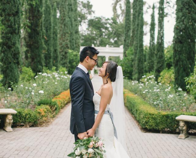 A Modern Garden Wedding At Montalvo Arts Center In Saratoga California