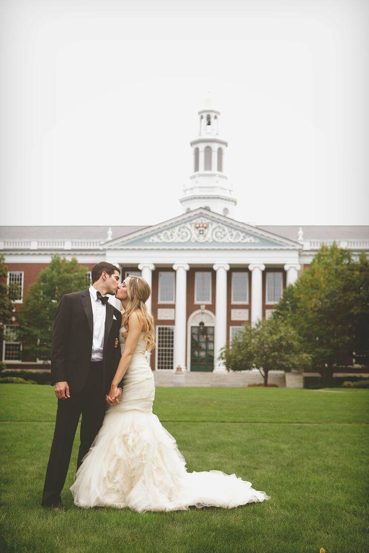 An Elegant Garden Wedding in Cambridge, MA