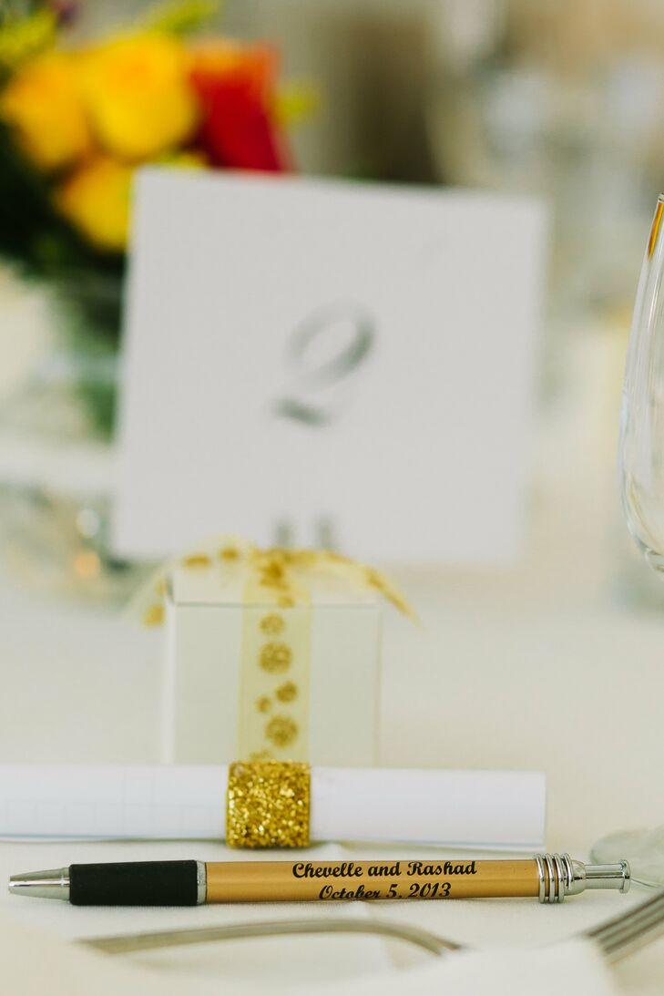 Personalized Pen Wedding Favors