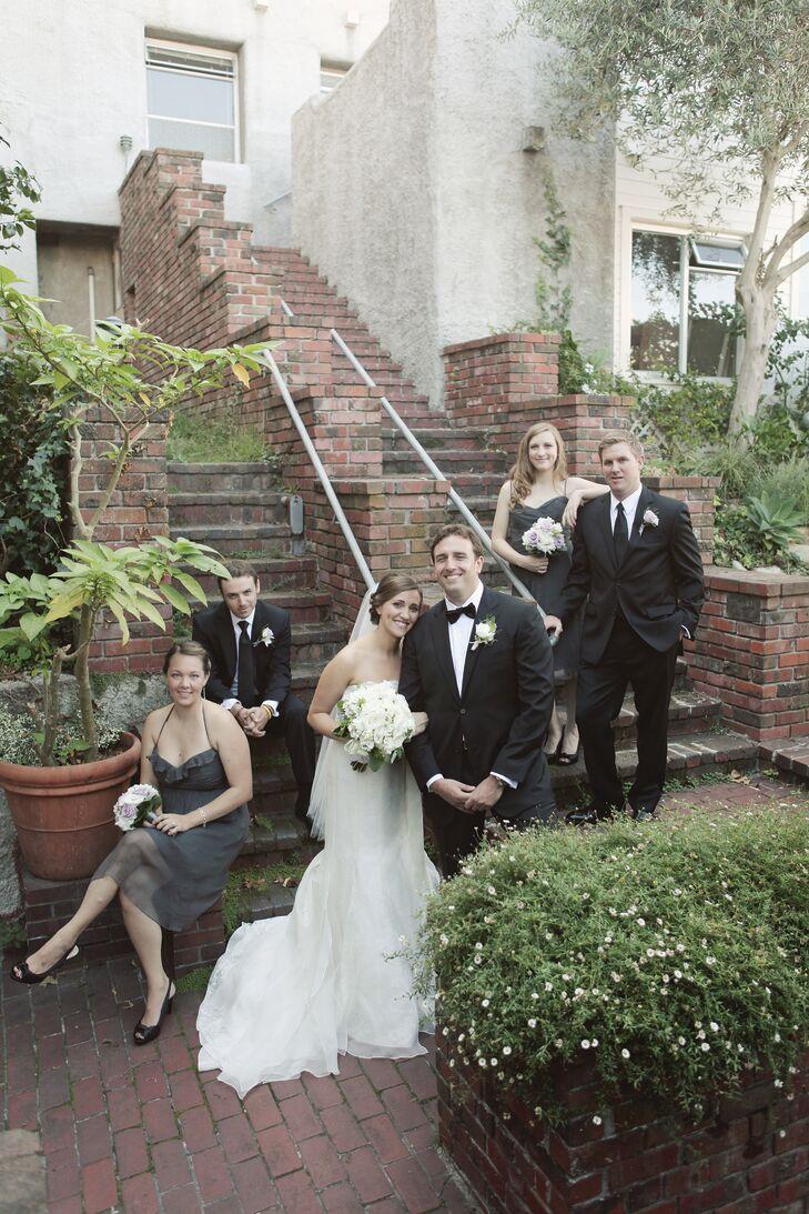 A Modern Urban Wedding In San Francisco Ca