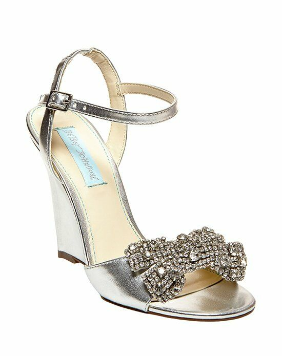 Blue by Betsey Johnson SB-Dress- Silver Wedding Accessory photo
