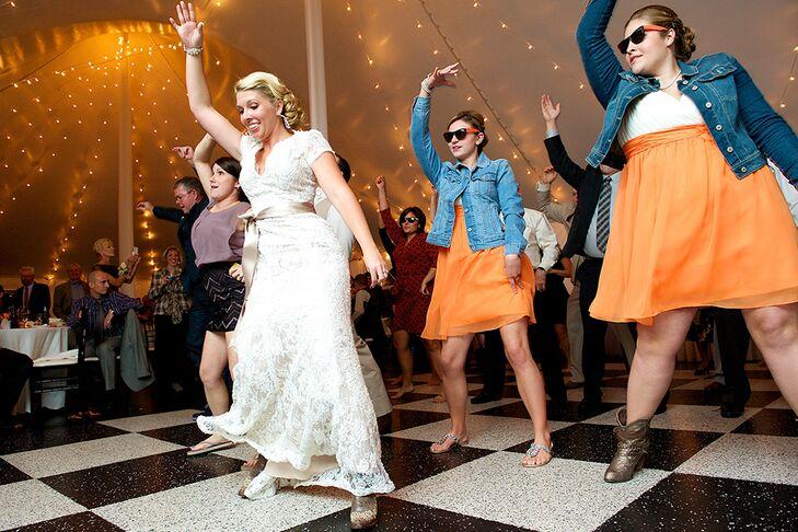 A Rustic Fall Wedding At Zukas Hilltop Barn In Spencer