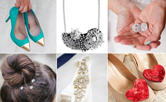 DIY Bridal Accessories // Featured: The Knot Blog