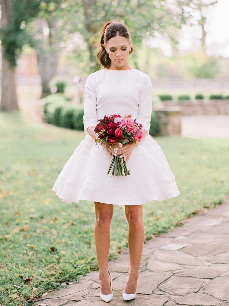 Dwain white dancer dresses