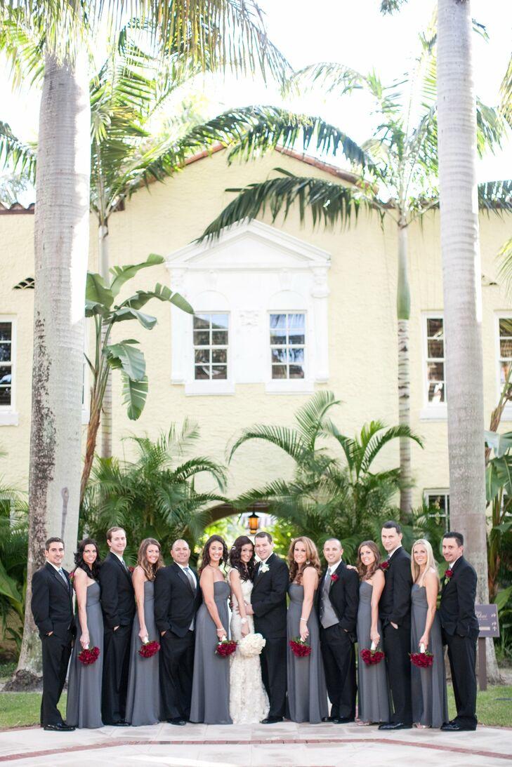 An Old Hollywood Wedding in Palm Beach, FL