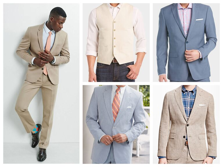 What to wear to a wedding wedding outfits for men and women for Beach wedding dress code