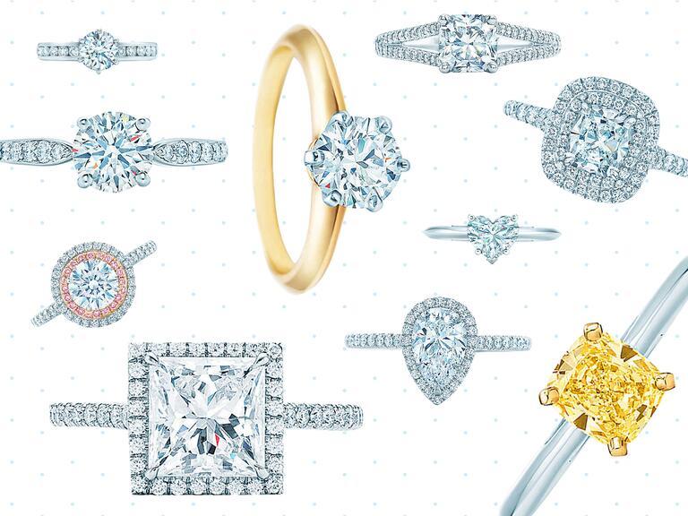 Our Favorite Tiffany & Co. Engagement Rings
