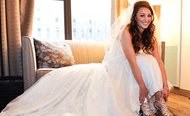 Married at First Sight Jamie Otis: Married at First Sight / TheKnot.com