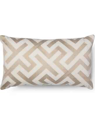 Oblong throw pillow registry gift