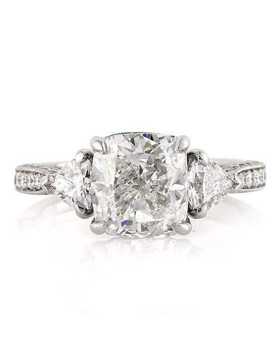 Mark Broumand 4.10ct Cushion Cut Diamond Engagement Anniversary Ring Engagement Ring photo