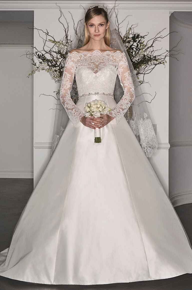Legends by romona keveza fall 2017 bridal fashion week photos Grace kelly wedding dress design