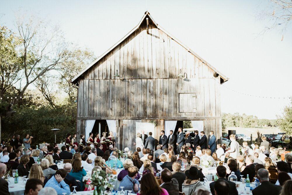 Rustic Barn Wedding Venue in Illinois