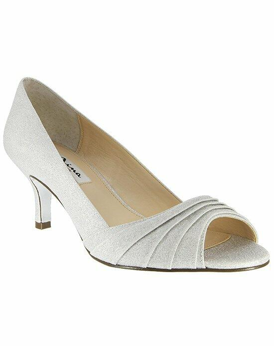 Nina Bridal CAROLYN_ARGENTO WONDERLAND Wedding Shoes photo