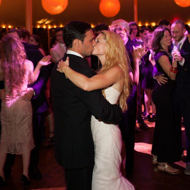 The playlist for the reception was created by DJ Jason Fioto of Generation Events, playing a combination of contemporary pop with classic oldies. Nora and Michael danced to She's Got a Way About Her by Billy Joel for their first dance.