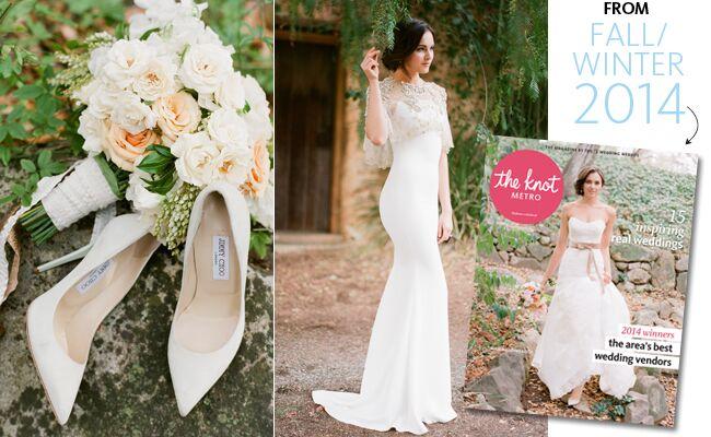 7 Dreamy Wedding Dress Details For A Woodland Wedding By Jose Villa