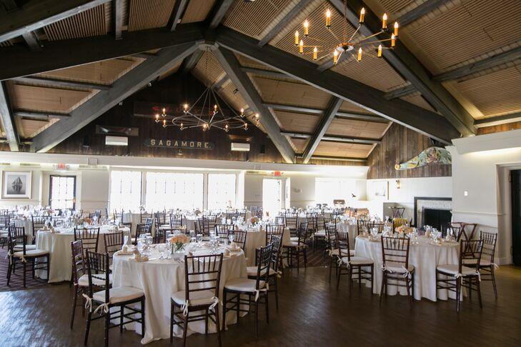 Indoor Reception At Mystic Seaport River Room At Latitude Restaurant - Table 41 restaurant