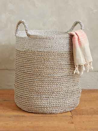 Anthropologie sun stream basket wedding registry