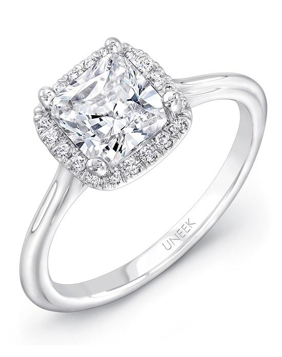 Uneek Fine Jewelry USMS08CU-5.5PC Engagement Ring photo