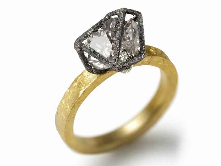 TAP by Todd Pownell caged diamond ring