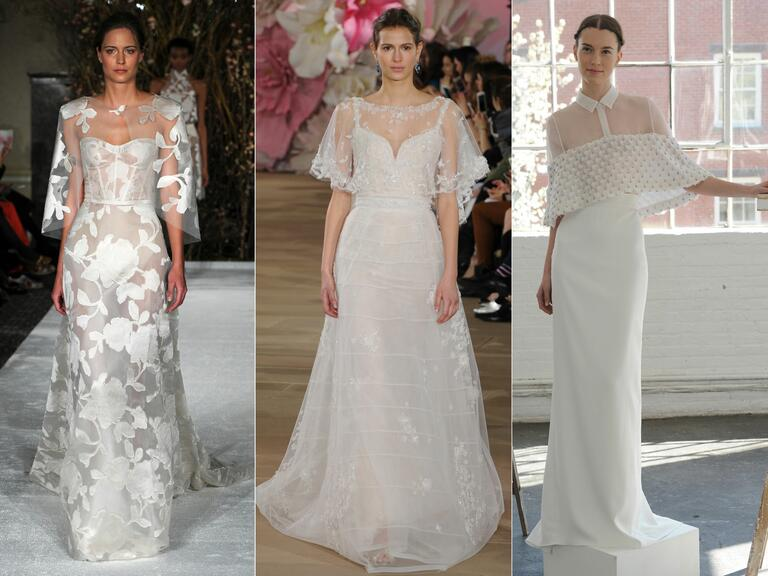Simple Wedding Dresses 2017 Trends And Ideas: Top Wedding Dress Trends From Spring 2017 Bridal Fashion