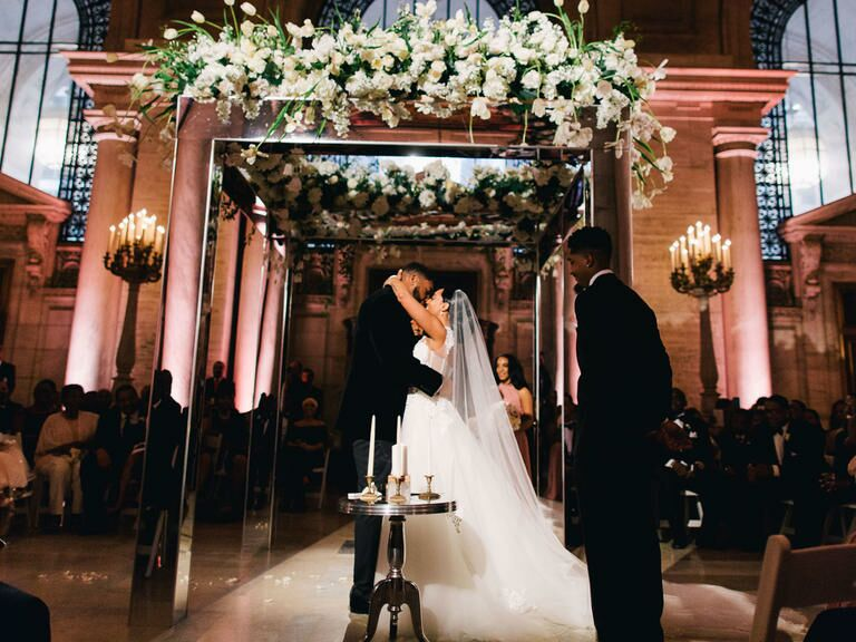 The Knot Dream Wedding 2016 at New York Public Library in New York City