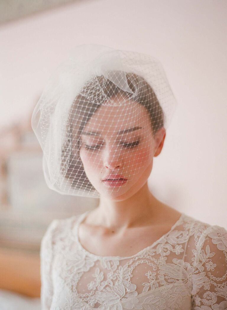 Modern Tulle Wedding Veil