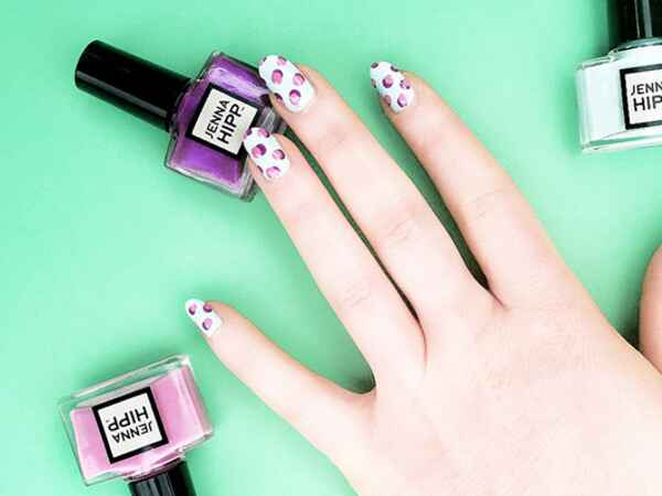 Nail artist Jenna Hipp shares her four nail art trends for summer.