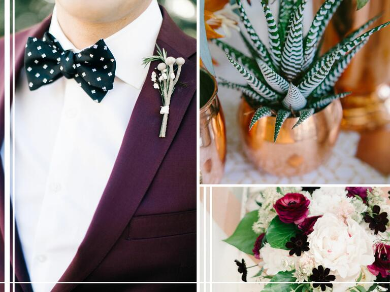 Dark and moody fall wedding color trends