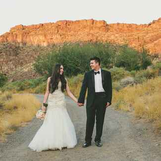 Idaho Desert Wedding