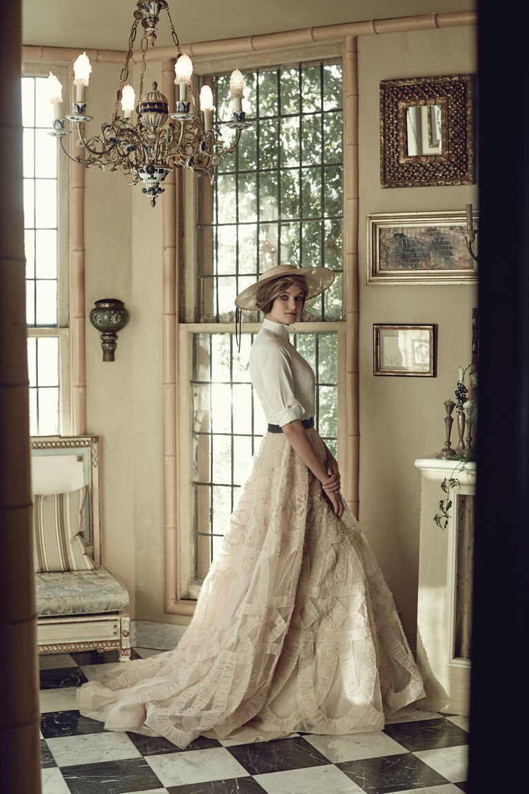 Shop vintage-inspired wedding dresses for your wedding day.