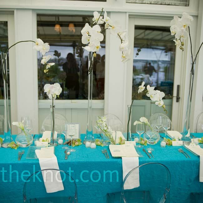 Orchid centerpieces - Decoration table mer ...