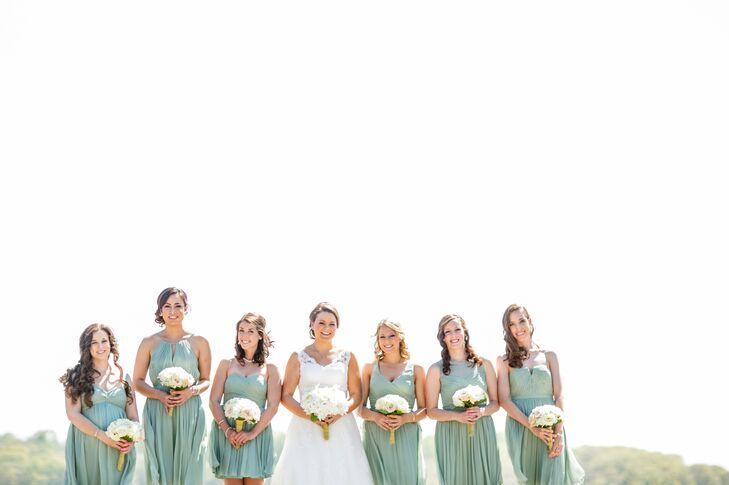 Dusty Shale J.Crew Bridesmaid Dress