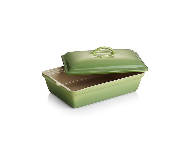 Le Creuset Heritage baking dish wedding registry