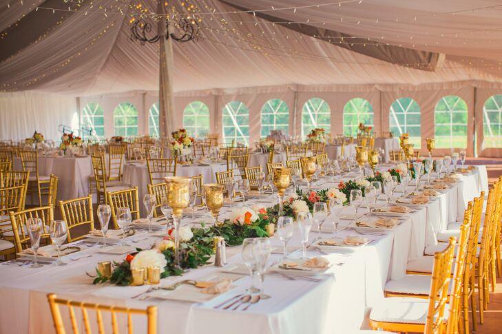 Meadowbrook Hall Wedding | Meadow Brook Hall Tented Reception