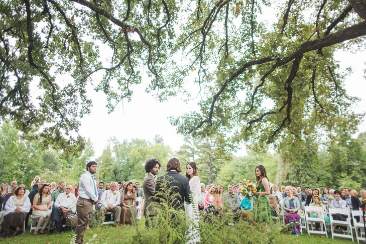 Whimsical Outdoor Wedding Ceremony