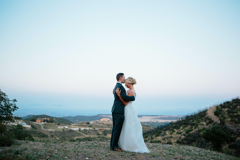 Natural Mountain Wedding Photos